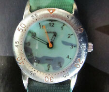 Enfants-quartz-montre * Flik * vert/vert foncé * environ/Gold * Auriol * neu*ovp*1