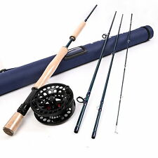 10 WT Fly Rod And Reel Combo 9FT Fly Fishing Rod And 9/11 WT Aluminum Fly Reel