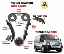 FOR FORD TRANSIT 2.2 DIESEL TDCI 2006--  NEW TIMING CAM CHAIN KIT + GEARS SET