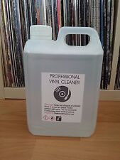 2 L VINYL RECORD CLEANING FLUID + FREE 3 PLASTIC RECORD SLEEVES  for : KNOSTI ..