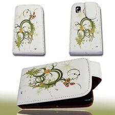 Design 1 Handy Flip Tasche Cover Case Hülle für Samsung GT S5230 Star ( S5230 )