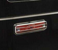 Hummer H2 SUV SUT Chrome Side Marker Light Lamp Covers