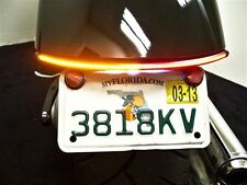 Honda Fury Integrated LED Run/Brake/Turn Light Bar w/ Tag Bracket - Smoked Lens