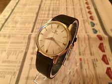 VINTAGE RARE 1958 GOLD OMEGA WATCH CAL 511 HAND WINDING - NICE CONDITION