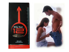 "Why Not 12"" Long Penis Extender Cream SEX Enlargement Male Enhancement Grith"