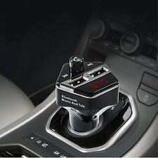 Wireless Bluetooth Car Kit FM Transmitter Audio MP3 Player Dual USB Charger