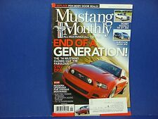Mustang Monthly,January 2014,End Of A Generation Bobby Rahal's '65 GT 350 & more