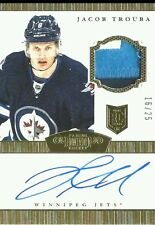 wOw! 3 CLRS /25 JACOB TROUBA ROOKIE GOLD JERSEY PATCH AUTO DOMINION 2013 13 14