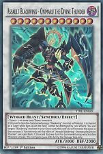 YUGIOH ASSAULT BLACKWING ONIMARU THE DIVINE THUNDER SUPER RARE TDIL-EN049 1ST ED