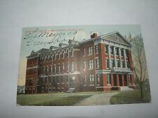 1910 NORMAL COLLEGE NEW MC IVER memorial building state Greenboro NC postcard