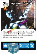 079 CAPTAIN UNIVERSE Uni-Power -Uncommon- AGE OF ULTRON Marvel Dice Masters