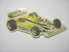 ADESIVO AUTO F1 anni '80 / Old Sticker ALAIN PROST WILLIAMS RENAULT (cm 16x6)
