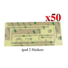 50 X iPad 2 Adhesive Sticker Tape Touch Screen LCD glass Digitizer 3M