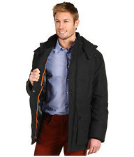 COLE HAAN MEN DOWN COAT JACKET PARKA INSULATED 2XL LARGE CHARCOAL GRAY NEW XXL