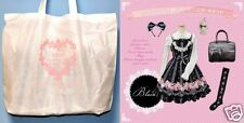 New BTSSB Cherry Rose JSK Set Lucky Pack 2014 JAPAN Gothic Lolita In Stock