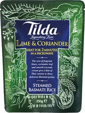 Tilda Gedämpfter Basmati Reis mit Limette & Koriander 250g