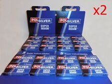 200 Polsilver super iridium Double Edge Safety DE Razor Blades