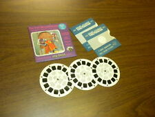 THE TWO MOUSEKETEERS cartoons (812ABC) Viewmaster 3 reels PACKET SET vintage