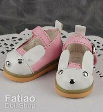Fatiao - 1/6 BJD dollfie Yo-SD Rabbit Mary Jane Doll Shoes Pink