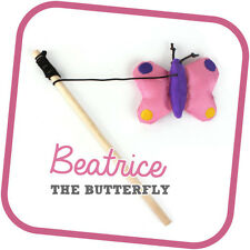 Beco Pets Cat Wand Toy Beatrice the Butterfly, Premium Seller, Fast Dispatch