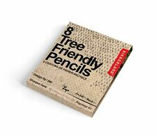 Kikkerland Matchbook of 8 Eco Tree Friendly Pencils Made of Recycled Paper NEW