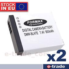 2pcs / Battery for Panasonic DMW-BLH7 DMW-BLH7E DMW-BLH7GK DMW-BLH7GT DMW-BLH7PP