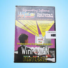 WinPCSIGN 2007 SOFTWARE FOR REDSAIL VINYL CUTTER PLOTTER PROFESSIONAL FOR XP