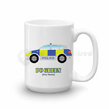 Personalised Gift Police Car Large Mug Cup Cop UK Police Officer Present Idea