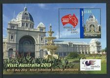 AUSTRALIA 2013 World Stamp Expo Minisheet MNH
