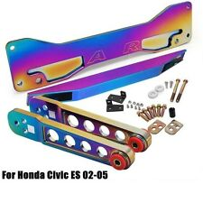 REAR SUB FRAME + CONTROL ARMS LCA + TIE BAR HONDA CIVIC Si 01-05 EP3 NEO CHROME