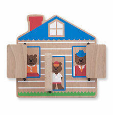 NEW Melissa And Doug Peek-A-Boo House Wooden Baby & Toddler Toy