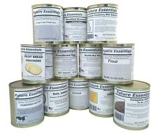 Case (12 Cans) of Future Essentials Basic Preparedness Variety Close, Free Ship