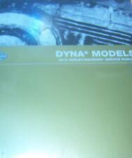 2012 Harley Davidson DYNA MODELS Service Shop Manual Set W Electrical & Parts