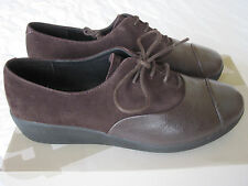 FITFLOP Oxford shoes. Brown leather/suede. Sz 4.5. New in box