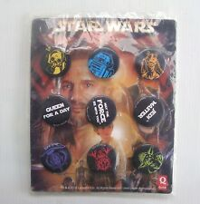 Série complète 9 badges pin's Star wars exclusivité Quick restaurant french pin