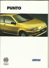 FIAT PUNTO 55S, TDS, SX-SELECTA, GT  AND  ELX CABRIO SALES BROCHURE JANUARY 1995