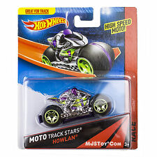 NEW Mattel 2013 Hot Wheels MOTO Track Stars HOWLAN High Speed Motorcycle