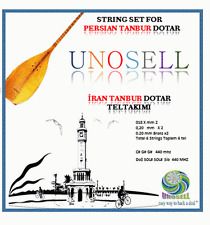 UNOSELL:: STRING SET FOR PERSIAN  STRING INSTRUMENT DOTAR  TANBOUR