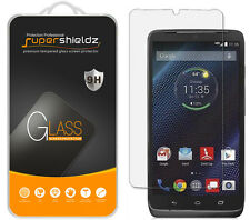 2X Supershieldz Tempered Glass Screen Protector Saver For Motorola Droid Turbo