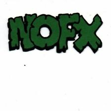 NOFX ROCK HEAVY MUSICEmbroidered Patch Iron Sew Logo Hardcore Emblem Custom NEW