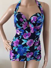 SWIMMING COSTUMES/SWIMSUIT,SIZE 12,BUST 34 D CUP, BY MARKS & SPENCER,COLOUR MULT
