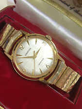 MINT MEN'S VINTAGE CROTON ANTI-MAGNETIC SHOCK RESISTANT SWISS WATCH STRETCH BAND