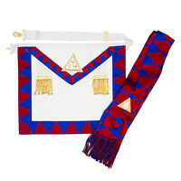 New Masonic Royal Arch Companions Apron & Sash RA Chapter Masons Regalia