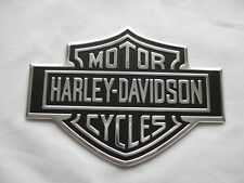 HARLEY DAVIDSON NAMEPLATE BAR&SHIELD  Peel and stick anywhere MADE IN USA