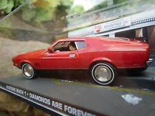 007 JAMES BOND Ford Mustang Mach 1 - Diamonds are Forever 1:43 BOXED CAR MODEL