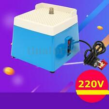 AC 220V 0.1A Mini Portable Blue Stained Grinder Diamond Glass Art Grinding Tool
