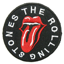 The Rolling Stones Rock Band Iron On Patch Sew Embroidered Jacket Shirt Hat DIY