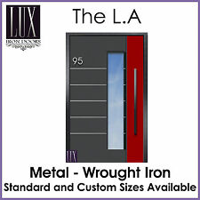 LUX Wrought Iron Doors - The L.A - All Metal - FREE DELIVERY AUSTRALIA