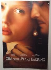 Original Movie Poster Girl With A Pearl Earring Double Sided 27x40