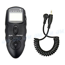 JJC Multi-Exposure Timer Infrared Remote w/ Cable For PANASONIC FZ200 GH1 GH3 G7